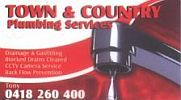Town And Country Plumbing Services